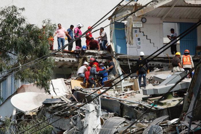 Εκατόμβη νεκρών στο Μεξικό από το φονικό χτύπημα του εγκέλαδου - εικόνα 3