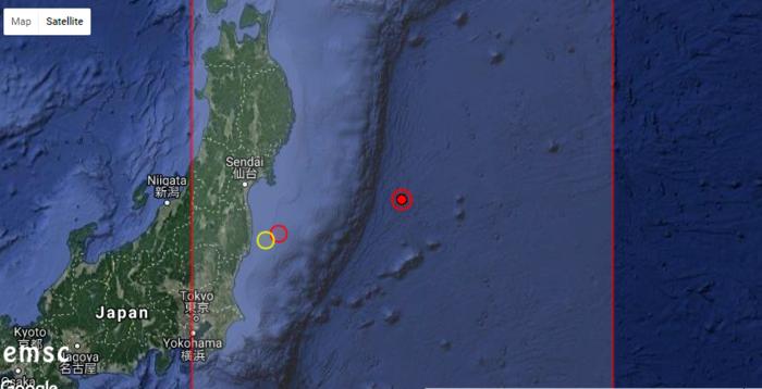 Εγκέλαδος... Δεσμώτης: Σεισμική δόνηση 6,1 Ρίχτερ στην Ιαπωνία
