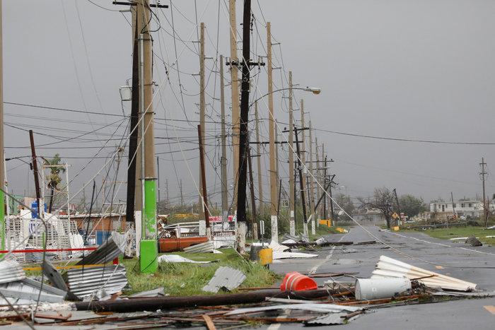 Kαταστροφή επικών διαστάσεων από τον τυφώνα «Μαρία» - εικόνα 3