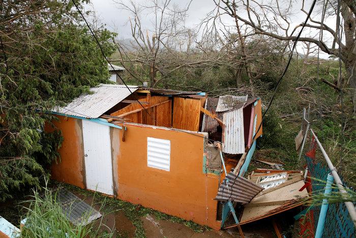 Kαταστροφή επικών διαστάσεων από τον τυφώνα «Μαρία» - εικόνα 4