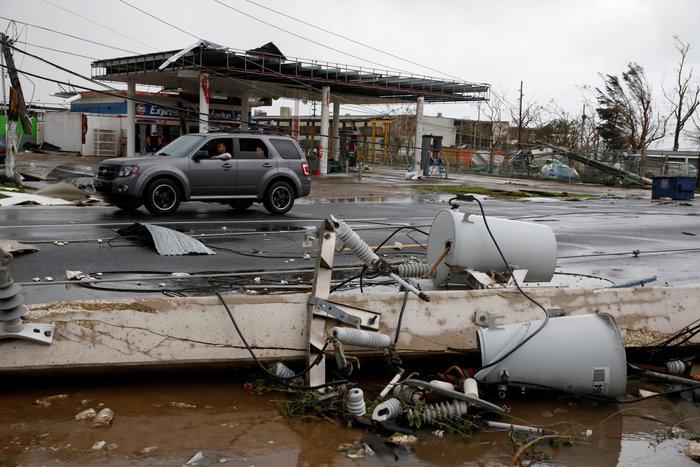 Kαταστροφή επικών διαστάσεων από τον τυφώνα «Μαρία» - εικόνα 6