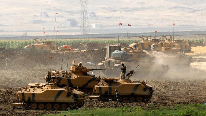 Τουρκικά τανκς στο Βόρειο Ιράκ για το δημοψήφισμα των Κούρδων