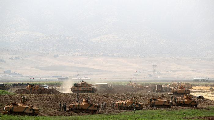 Τουρκικά τανκς στο Βόρειο Ιράκ για το δημοψήφισμα των Κούρδων - εικόνα 2
