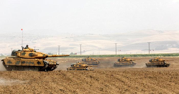 Τουρκικά τανκς στο Βόρειο Ιράκ για το δημοψήφισμα των Κούρδων - εικόνα 3