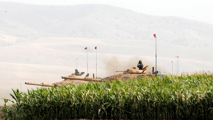 Τουρκικά τανκς στο Βόρειο Ιράκ για το δημοψήφισμα των Κούρδων - εικόνα 4