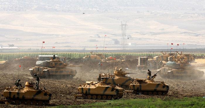 Τουρκικά τανκς στο Βόρειο Ιράκ για το δημοψήφισμα των Κούρδων - εικόνα 5