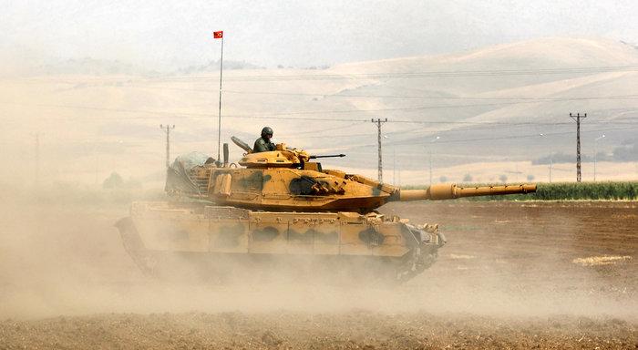 Τουρκικά τανκς στο Βόρειο Ιράκ για το δημοψήφισμα των Κούρδων - εικόνα 7