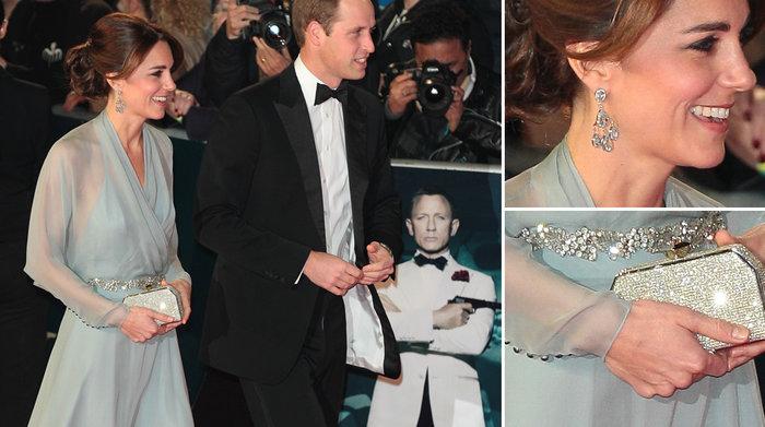 Η Κέιτ σε πρεμιέρα ταινίας James Bond σε μιά από τις πιο elegant εμφανίσεις που έχει κάνει