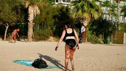 Αυλωνίτου: Προϊόν photoshop η φωτογραφία της γυναίκας με την πίσσα