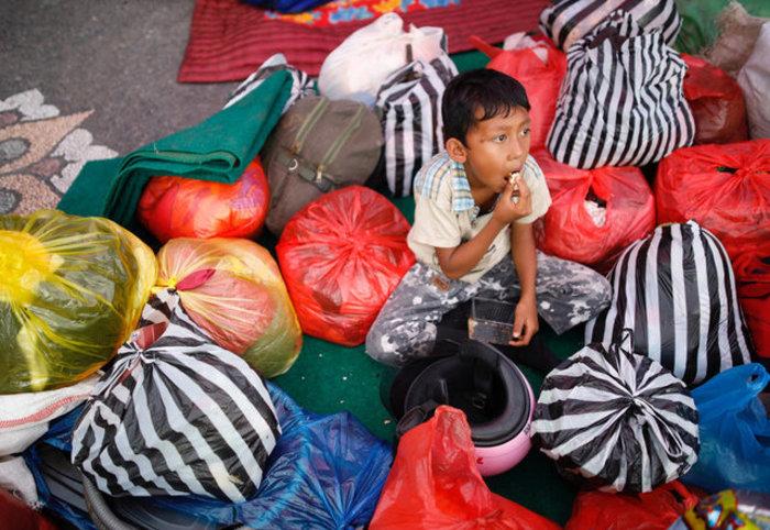 Φοβούνται το ηφαίστειο στο Μπαλί: 50.000 έφυγαν από τα σπίτια τους-Εικόνες - εικόνα 4