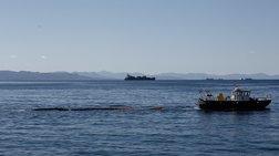 Ρύπανση Σαρωνικού:  Έχουν απαντληθεί 557 κυβικά μέτρα μαζούτ