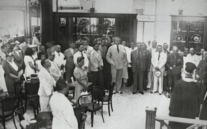 Τα εγκαίνια του Zonar's τον Αύγουστο του 1940