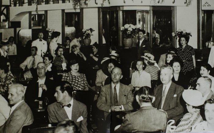 Στιγμιότυπο από την επαναλειτουργία του Zonar's το 1950