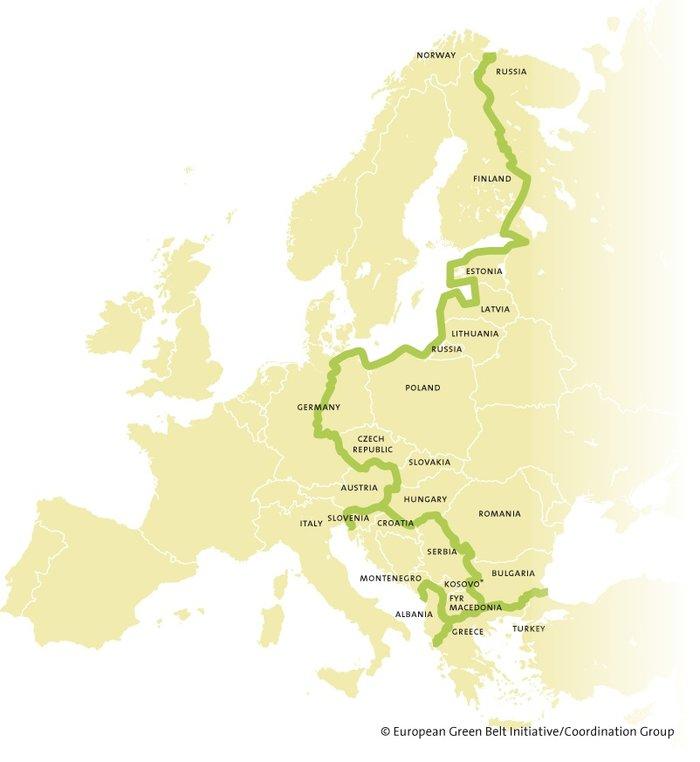 Το «Σιδηρούν Παραπέτασμα» δίνει τη θέση του στην... Ευρωπαϊκή Πράσινη Ζώνη