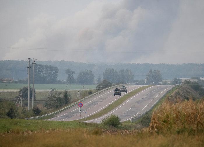 Έκρηξη σε στρατιωτική βάση στην Ουκρανία - Απομακρύνθηκαν 24.000 άνθρωποι - εικόνα 3