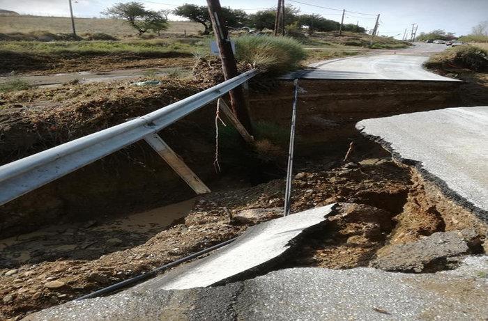 Εικόνες «βιβλικής» καταστροφής στη Σαμοθράκη