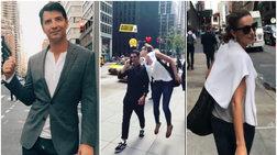 Ρουβάς - Ζυγούλη: Το τρυφερό φιλί στους δρόμους της Νέας Υόρκης [Βίντεο]