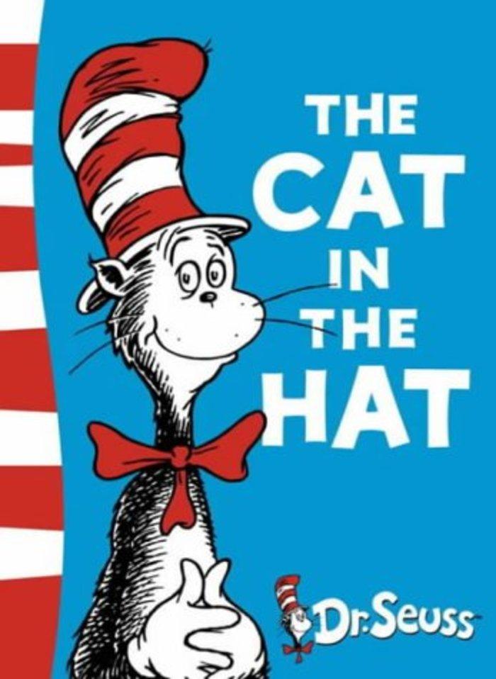 Ενα από τα βιβλία που έστειλε η Μελάνια ήταν το «Τhe cat in the hat» του Dr. Seuss