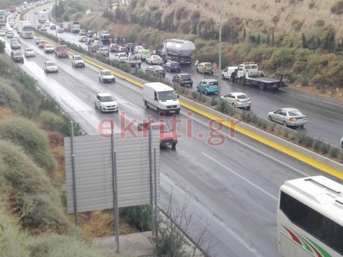 Mπαράζ τροχαίων ατυχημάτων στην Κρήτη – Εικόνες και βίντεο - εικόνα 3