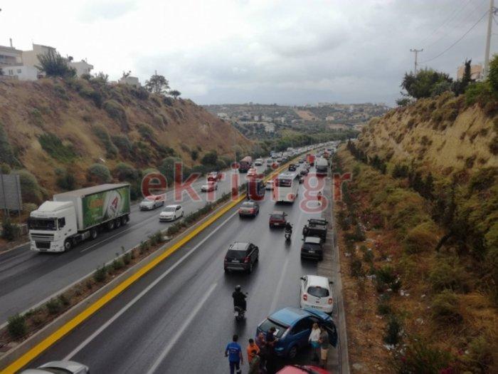 Mπαράζ τροχαίων ατυχημάτων στην Κρήτη – Εικόνες και βίντεο - εικόνα 5