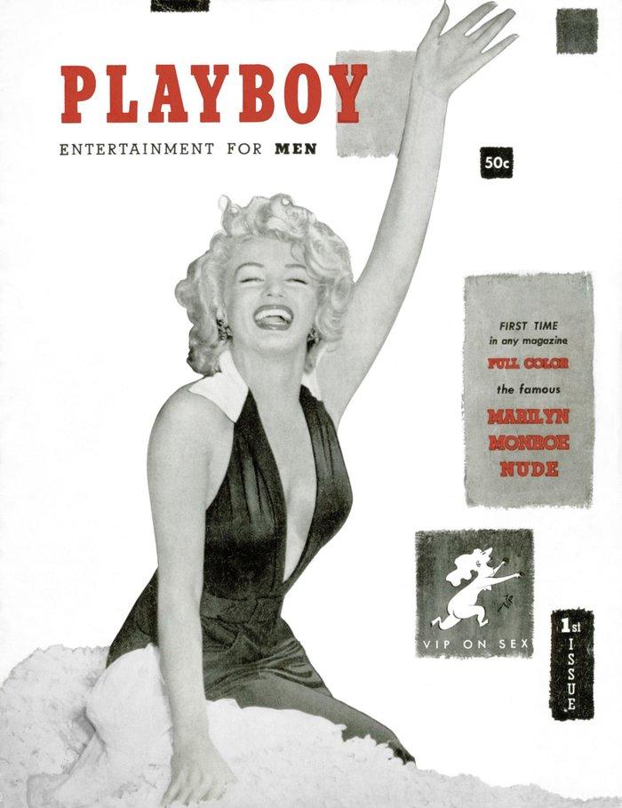 Δεκέμβριος 1953: Το πρώτο εξώφυλλο του Playboy με τη Μέριλιν Μονρόε.
