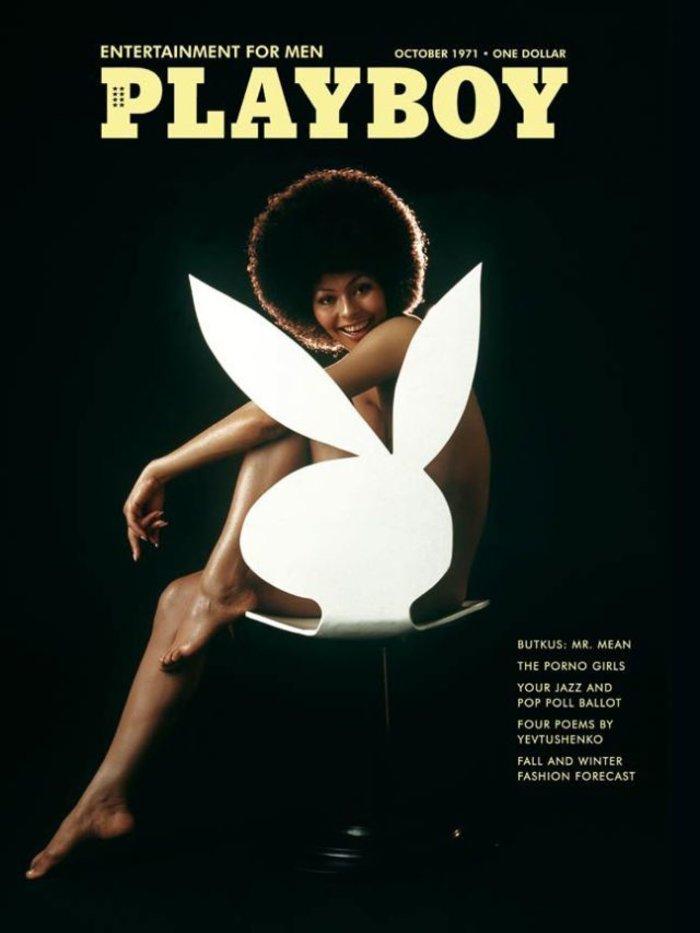 Οκτώβριος 1971. Μια αφρο-αμερικανή, η εκθαμβωτική Darine Stern, για πρώτη φορά στο εξώφυλλο.
