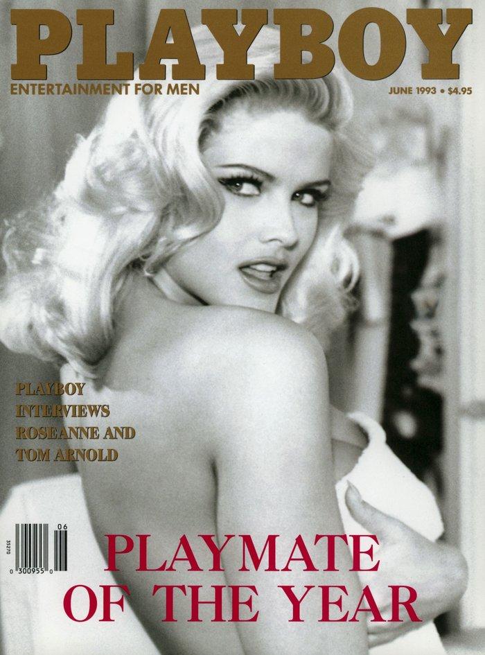 Ιούνιος 1993. Η Αν Νικόλ Σμιθ στο εξώφυλλο του Playboy.