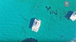 Απέραντο γαλάζιο: Η άγνωστη «εξωτική» παραλία της Αιτωλοακαρνανίας