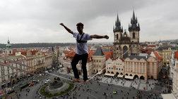 Ακροβατικά στην Πράγα