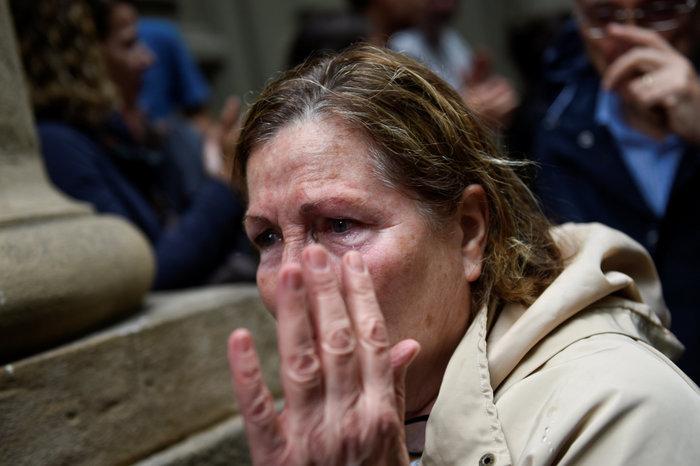Καταλονία: 90% υπέρ της ανεξαρτησίας - 844 οι τραυματίες - εικόνα 9