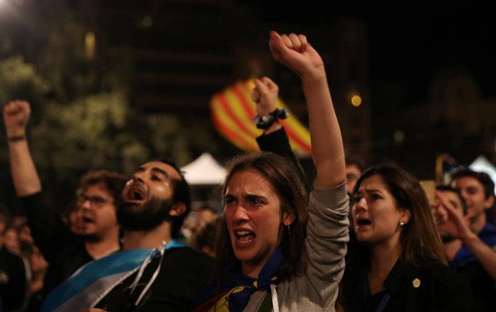 Καταλονία: 90% υπέρ της ανεξαρτησίας - 844 οι τραυματίες