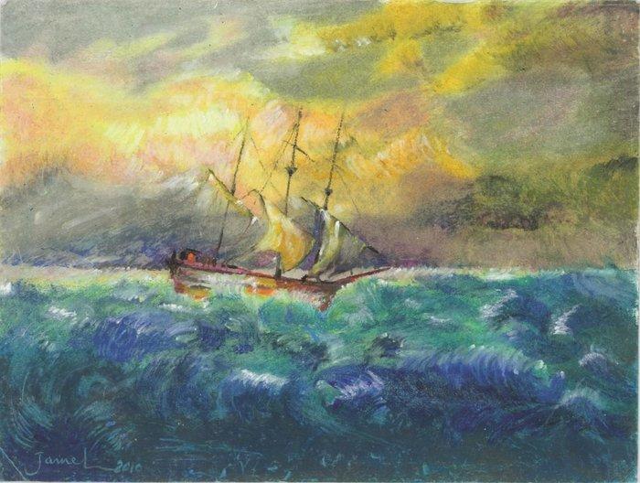 Ωδή στη θάλασσα: πρώτη φορά, έργα τέχνης από κρατούμενους του Γκουντάναμο - εικόνα 5