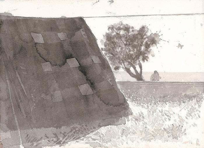 Εργο του Δ. Κατσιγάννη (συλλογή Α.Χατζηϊωάννου)