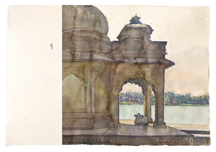Δ. Κατσιγιάννης: Από την Κρήτη ως την Ινδία. Εργα της συλλογής Χατζηϊωάννου - εικόνα 5
