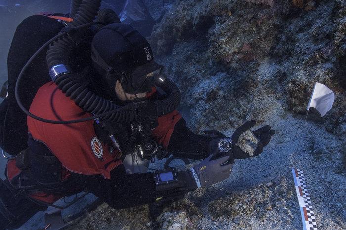 Ευρήματα από την ανασκαφική έρευνα στο Ναυάγιο των Αντικυθήρων