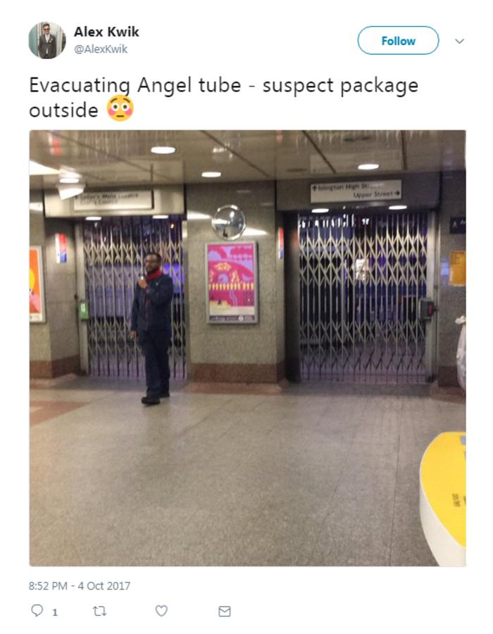 Εκκενώθηκε σταθμός του μετρό στο Λονδίνο για ύποπτο αντικείμενο