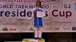 Χάλκινο η Τσίγκα στο Ευρωπαϊκό Πρωτάθλημα Ταε κβο ντο