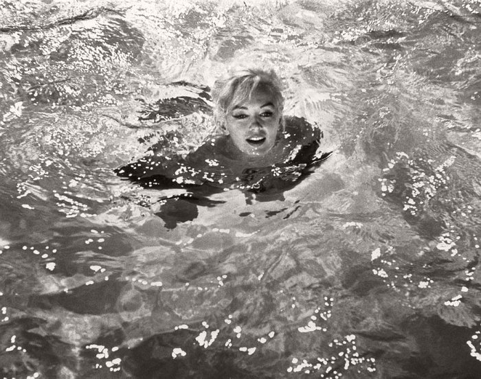 "Lawrence Schiller – First Dip, Marilyn Monroe, ""Something's Got to Give"", 1962$5,000.00"