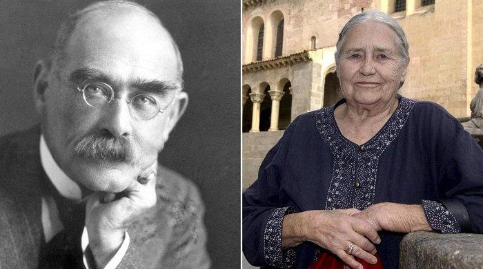 Rudyard Kipling, Doris Lessing
