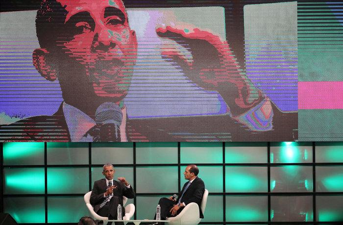 Ο Ομπάμα ζητεί «πράσινη» επανάσταση κατά των...θεωριών Τραμπ