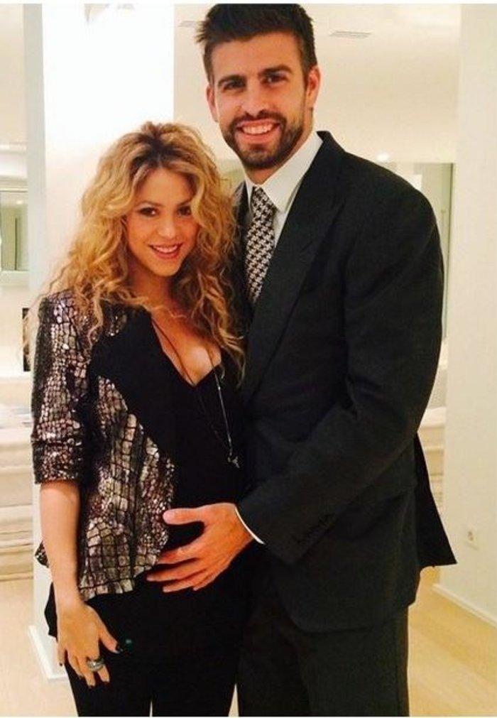 Η φωτογραφία πυ είχε αναρτήσει η Σακίρα στο Instagram περιμένοντας το δεύτερο παιδί της με τον Πικέ