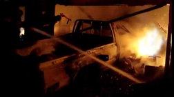 Πυρκαγιά σε υπόγειο πάρκινγκ στη Γλυφάδα-κάηκαν 9 ΙΧ
