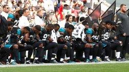 Γονάτισαν οι παίκτες φούτμπολ στον εθνικό ύμνο,αποχώρησε ο Πενς από αγώνα