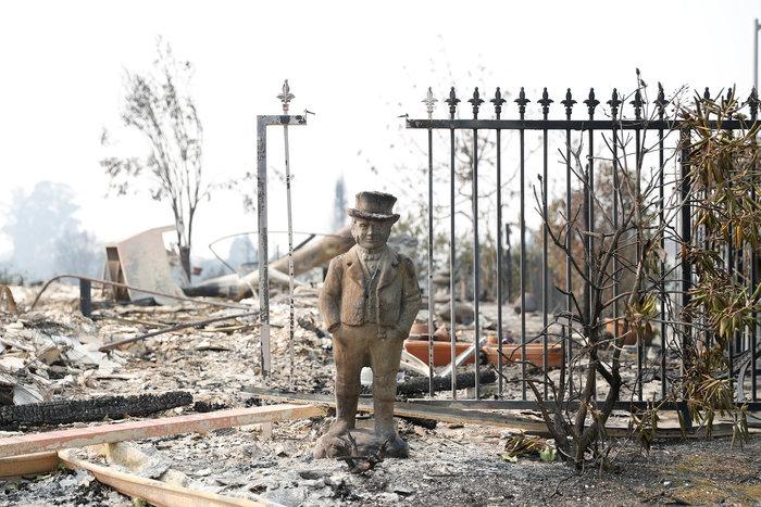 Καλιφόρνια: 15 νεκροί & 150 αγνούμενοι από τις φωτιές - εικόνα 7