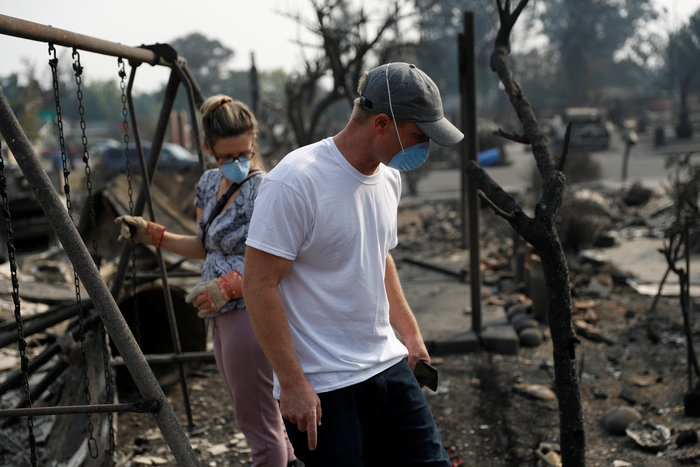 Καλιφόρνια: 15 νεκροί & 150 αγνούμενοι από τις φωτιές - εικόνα 9