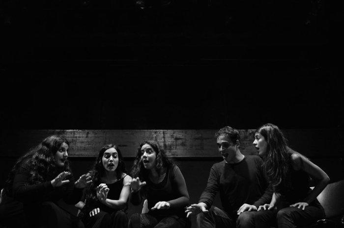 «Νέκυια - Εκ-σταση» της Φένιας Παπαδόδημα στο Θέατρο Τέχνης