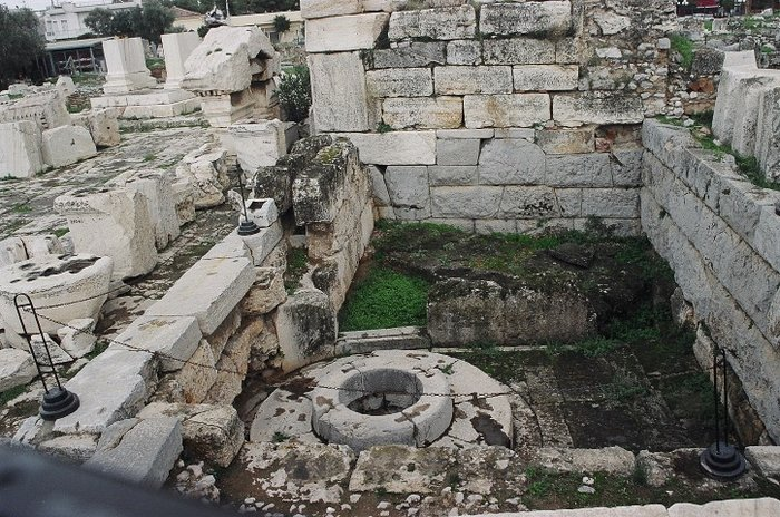 Ελευσίνα, ιερό Δήμητρας-και-Κόρης, Το παρθένιον ή καλλίχορον φρέαρ