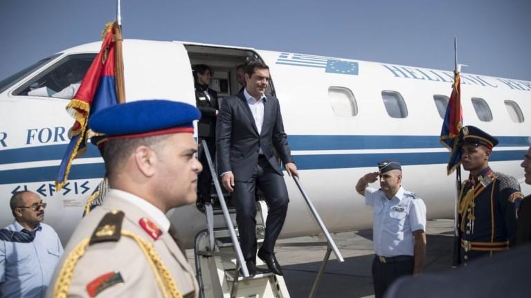 Για τις ΗΠΑ αναχωρεί ο Τσίπρας, συναντήσεις με Τραμπ, Λαγκάρντ