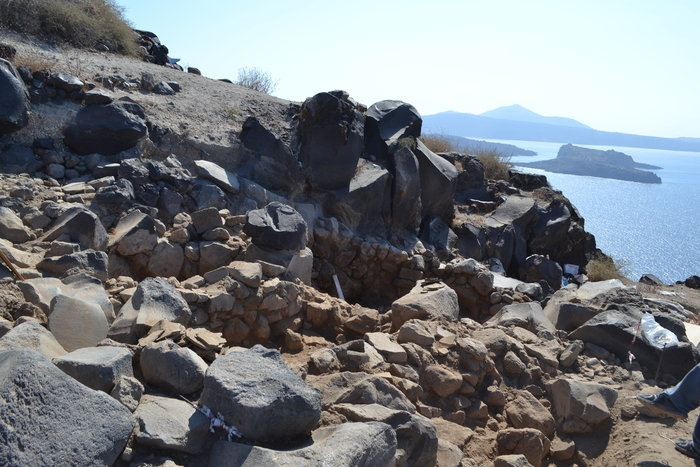 Στο φως προϊστορικός οικισμός στην Kοίμηση Θηρασίας - εικόνα 3