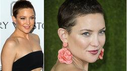 Η Κέιτ Χάντσον αποδεικνύει ότι το κοντό μαλλί τονίζει τη θηλυκότητα